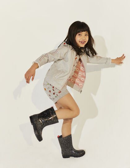 Girls' grey cardigan - IKKS Junior