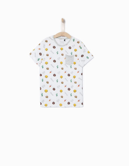 Boys' Emoji T-shirt - IKKS Junior