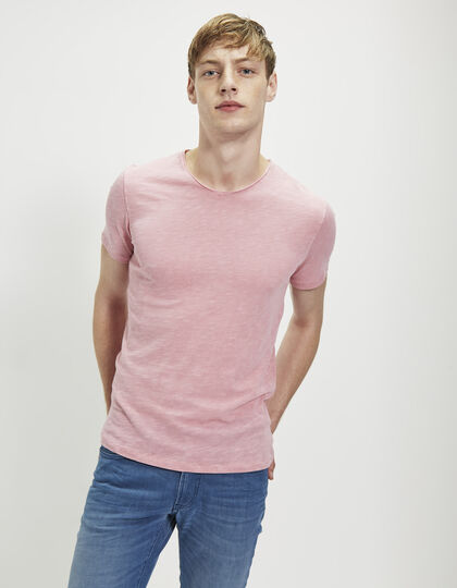 Tee-shirt rose homme - IKKS Men