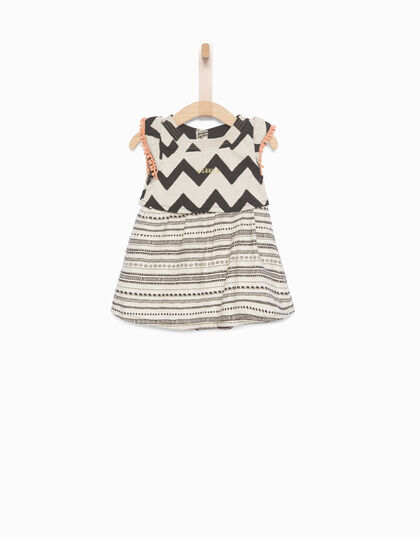 Baby girls' ecru dress - IKKS Junior