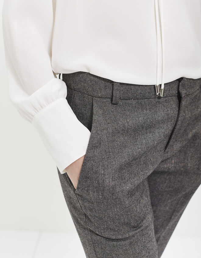 Women's flared trousers