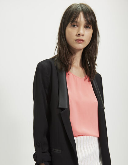 Women's black suit jacket - IKKS Women