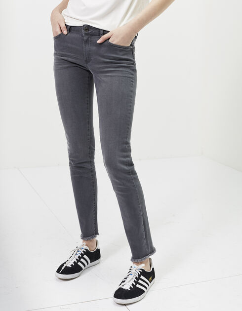 Slim fit damesjeans