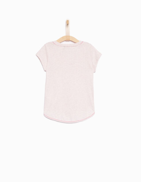 Girls' pink T-shirt