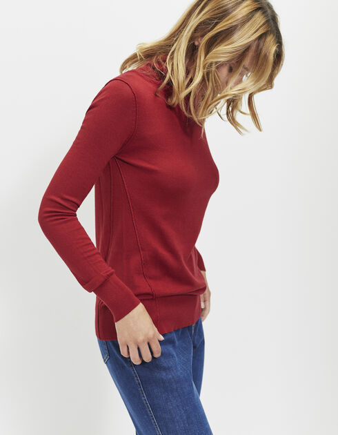Women's roll-neck sweater