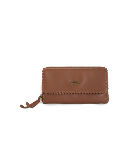 Women's leather wallet - IKKS Women
