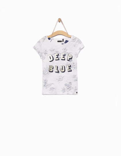 Tee-shirt fille blanc - IKKS Junior