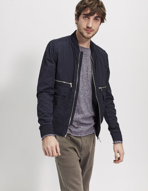 Men's navy blue jacket