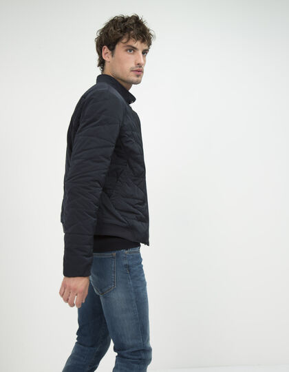Men's navy blue jacket - IKKS Men