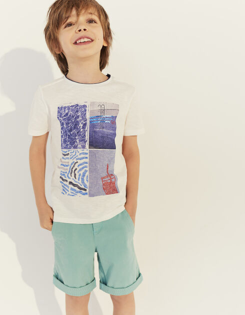 Boys' chino Bermuda shorts
