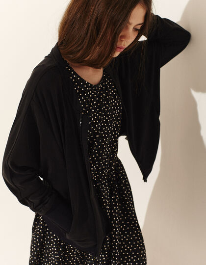 Cardigan fille noir - IKKS Junior