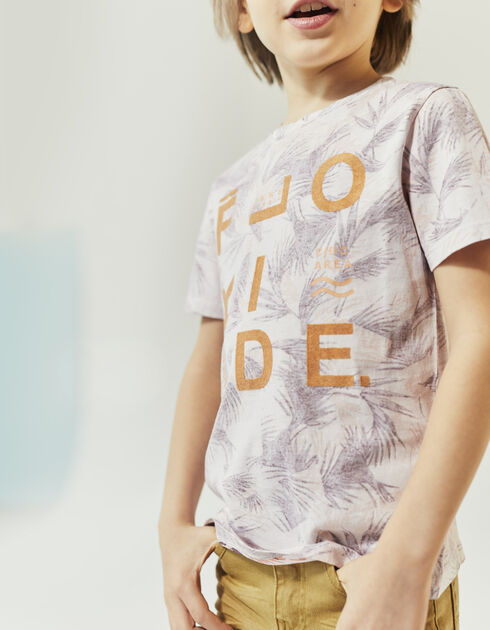 Boy's printed T-shirt