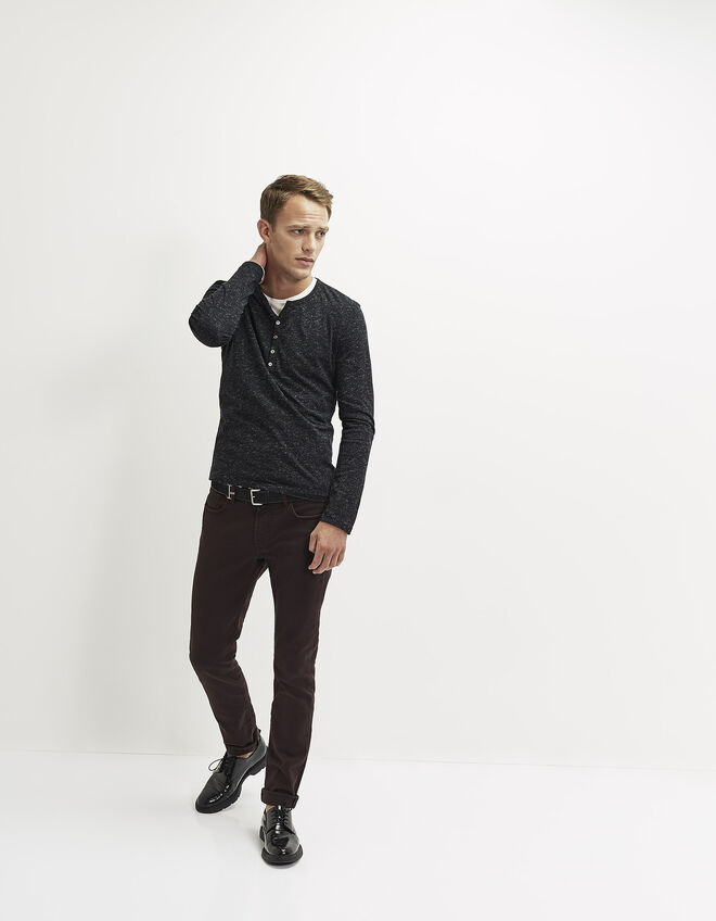 Slim fit heren broek