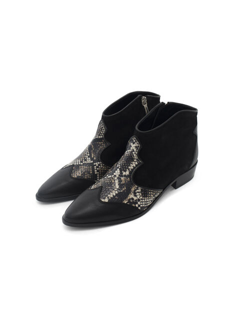Boots cremallera mujer