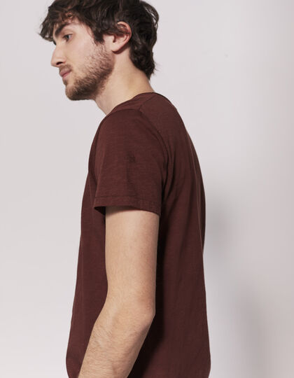 Men's red T-shirt - IKKS Men