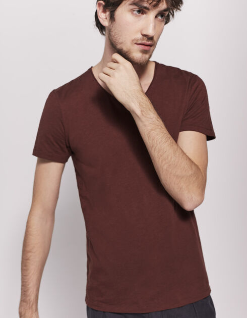 Tee-shirt rouge homme
