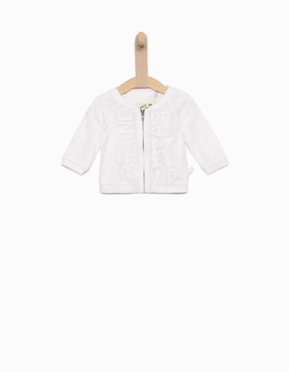Cardigan blanc bébé fille - IKKS Junior