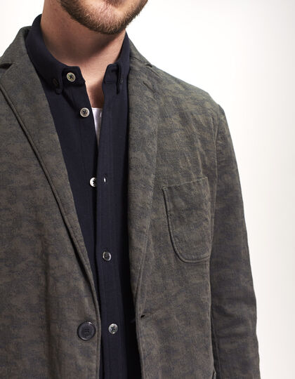Men's Jacquard blazer - IKKS Men