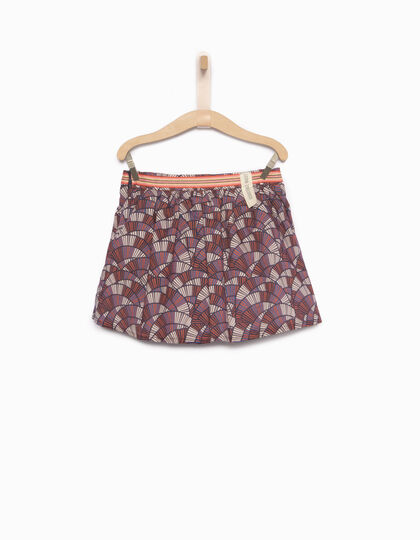 Falda niña estampado wax - IKKS Junior