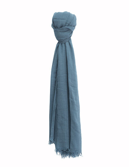 Men's blue scarf - IKKS Men
