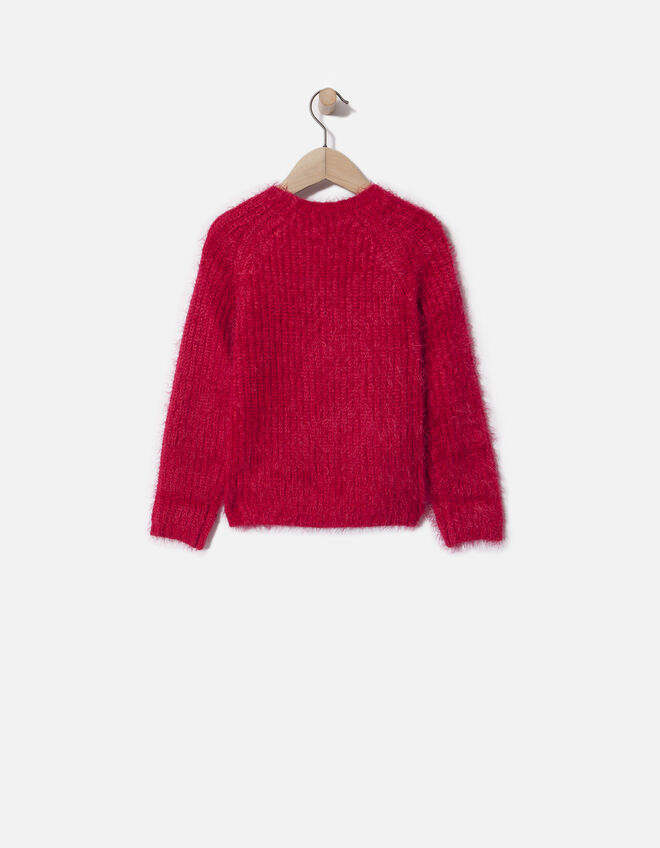Girls' pink pullover