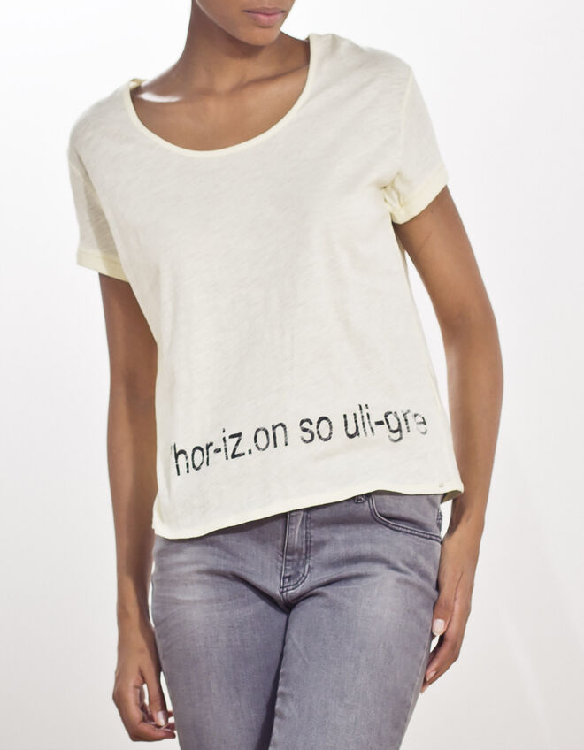 Women's Slogan T-shirt