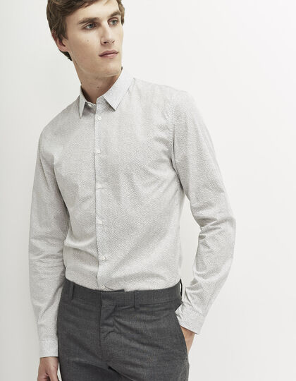 Men's ecru shirt - IKKS Men