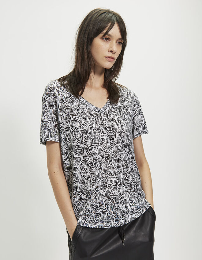 Women's leaf T-shirt
