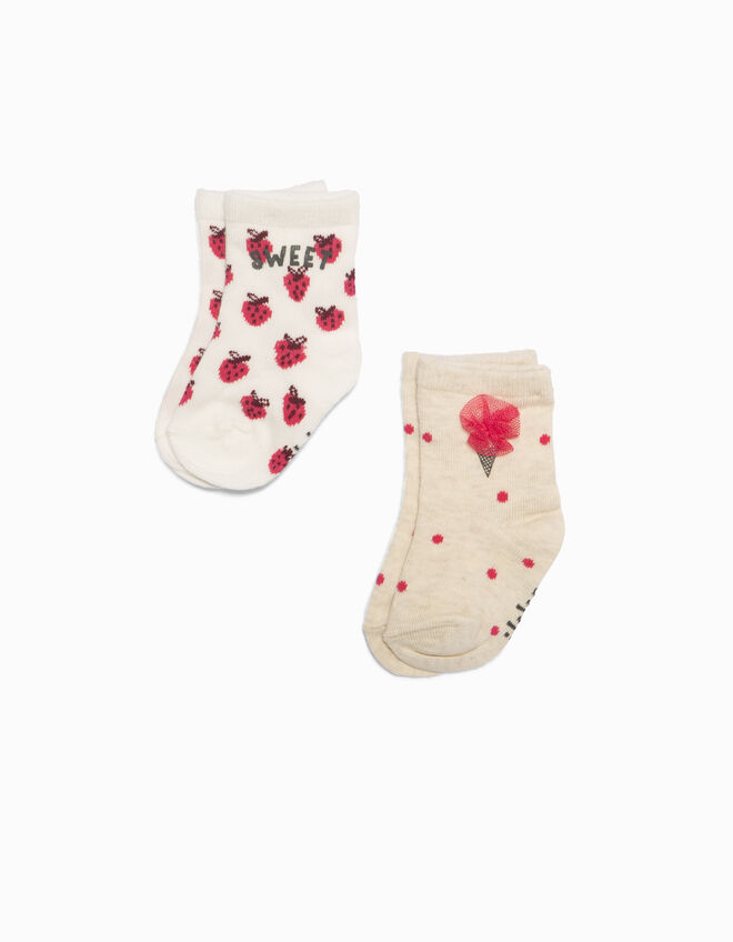 Baby girls' socks
