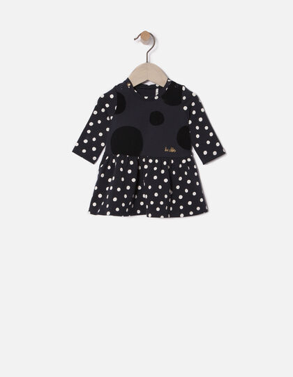 Robe à pois bébé fille - Junior