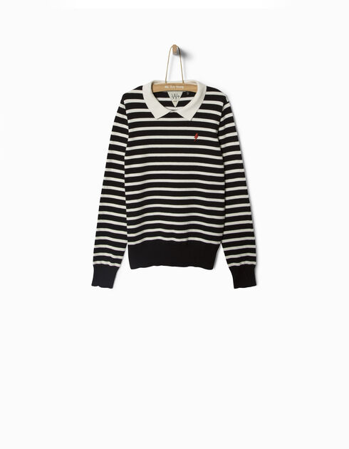 Girls' sailor top