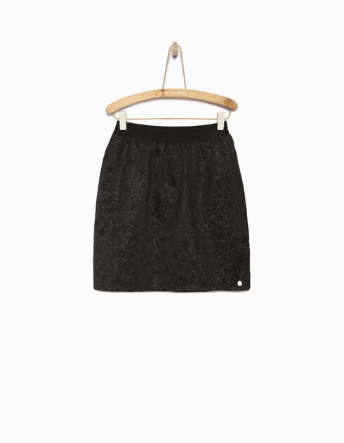 Girls' lace skirt