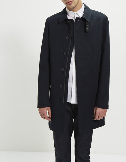 Trench bleu marine homme - IKKS Men