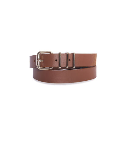 Women's camel belt - I.Code