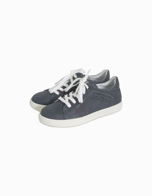 Boys' leather trainers