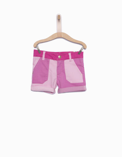 Girls' pink shorts - IKKS Junior