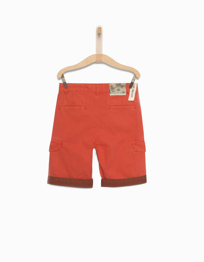 Boys' red Bermuda shorts - IKKS Junior