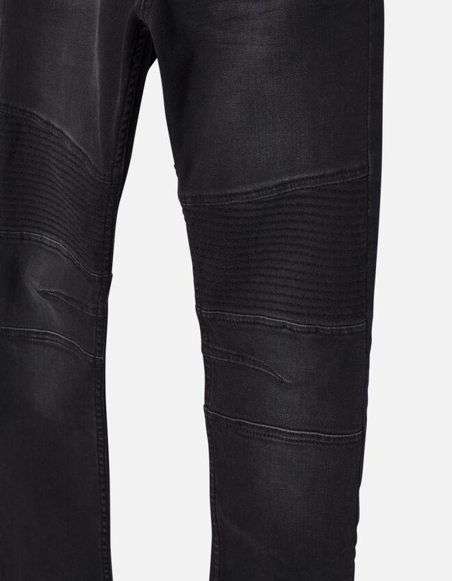 jean slim noir gar on ikks mode archive h16 automne hiver. Black Bedroom Furniture Sets. Home Design Ideas