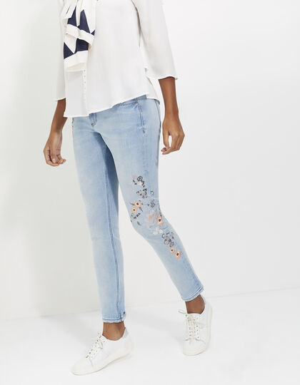 Women's slim fit jeans - I.Code