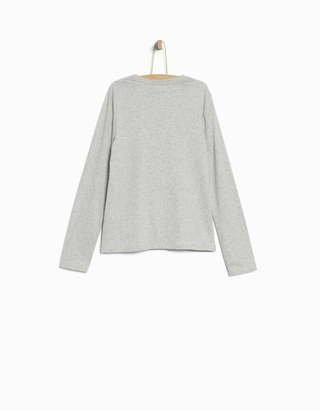 Boys' grey T-shirt