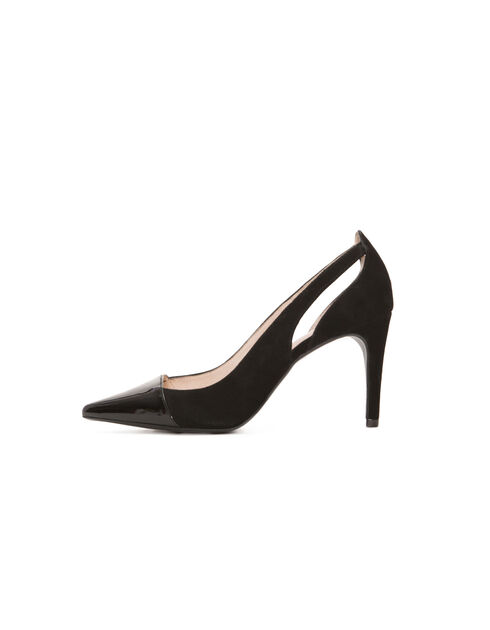 Womens black pumps