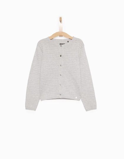 Cardigan fille gris - IKKS Junior