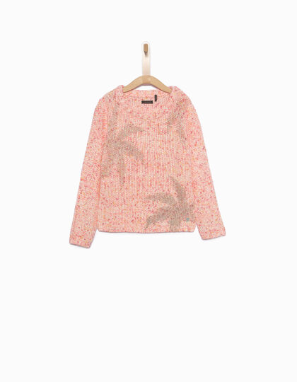 Girls' pink sweater - IKKS Junior