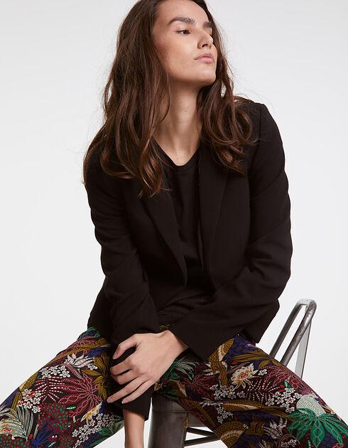 soldes veste courte femme ikks soldes veste blazer t. Black Bedroom Furniture Sets. Home Design Ideas