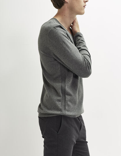 Men's V-neck sweater - IKKS Men