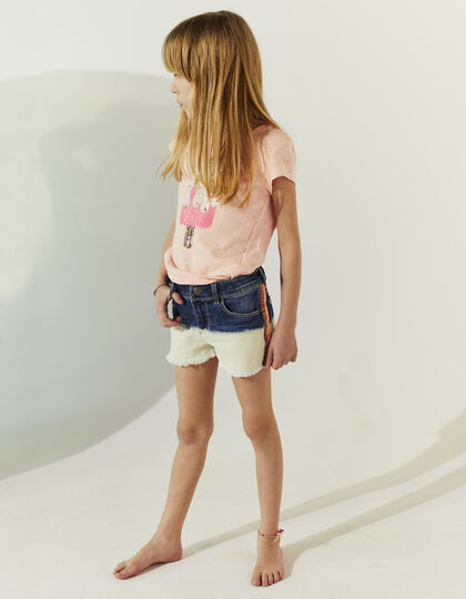 Girls' denim shorts - IKKS Junior