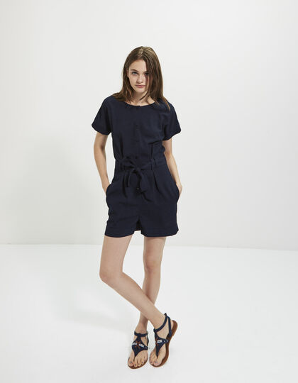 Navy blue playsuit - I.Code