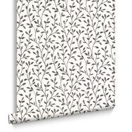 Boho Black and White Wallpaper, , large