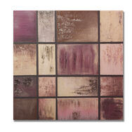 Plum Abstract Canvas, , large