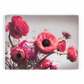 Bold Bouquet With Glitter Printed Canvas, , large